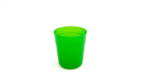 """alt=""""green plastic cup for kids"""""""